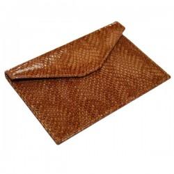 Petite enveloppe cuir casamance Récife