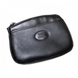 Porte monnaie Homme cuir noir