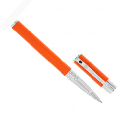 Stylo roller St Dupont D-Initial Orange chrome