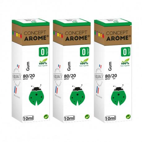 E-liqude Conceptarome Gum 30 ml