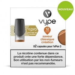 Capsule Vype Epen 3  Classic Création