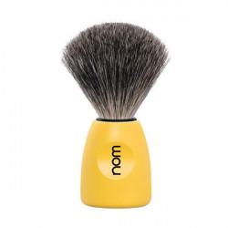 Blaireau Num LASSE Pur noir Monture jaune