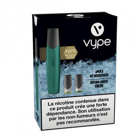 Kit découverte ePen 3 Vype vPro Bleu