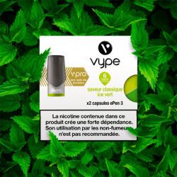 Capsule Vype Epen 3 vPro Ice Vert