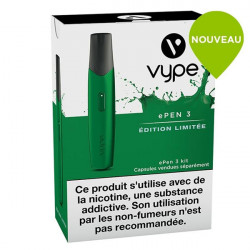 Cigarette e Pen 3 Vype  éditition limitée Vert