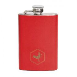Flasque Chacom CC270 Gainée cuir Rouge
