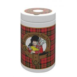 Jarre à tabac décor écossais
