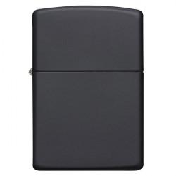 Zippo régular black mat