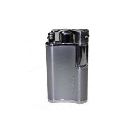 Briquet Vector flask chrome satin