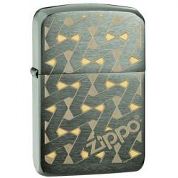 Zippo Geometric Design