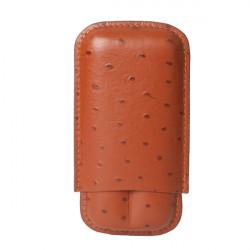 Etui cigares Chacom cuir Brun  CC1265