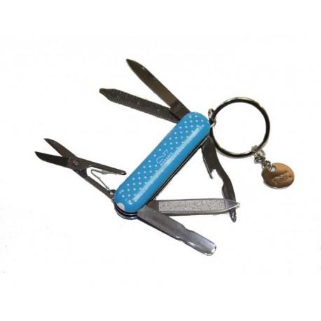 Couteau de poche multifonction Richartz bleu