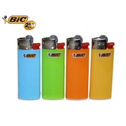 Lot de 4 briquet mini bic pastel