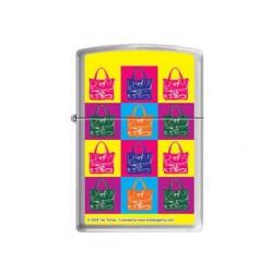 Zippo pop art purse