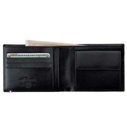 Porte-monnaie cartes de credit ligne D ST Dupont