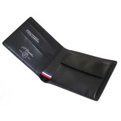Porte porte cartes cuir defi carbone