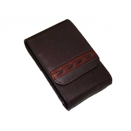 etui pour paquet de cigarettes cuir marron n702 31 00. Black Bedroom Furniture Sets. Home Design Ideas