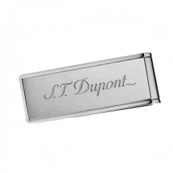 Pince à billet blason ST Dupont PVD inox