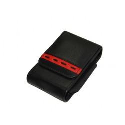 Etui paquet de cigarette cuir N 702 noir