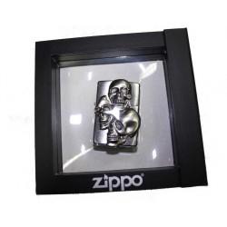 Zippo three skull