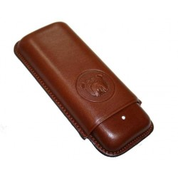Etui cigares Dunhill Bulldog brown