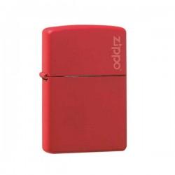 Zippo red matt with logo