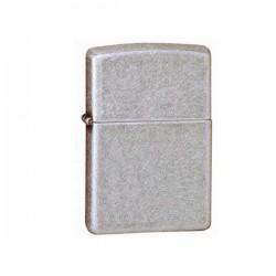 Zippo antique silver plate