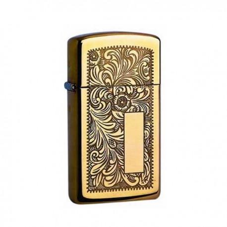 Zippo slim brass venitian 851041
