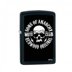 Zippo Sons of Anarchy redwood original