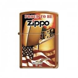 Zippo mazzi flag