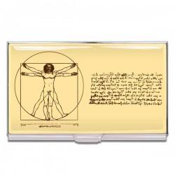 Porte cartes acme Leonardo da Vinci