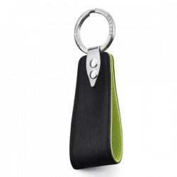Porte clés cuir caviar Dalvey