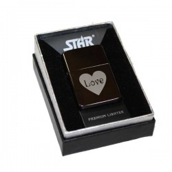 Briquet essence Star love