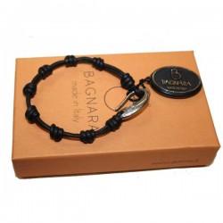 Bracelet cuir silver Bagnara