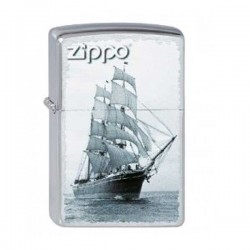 Zippo ship on sea