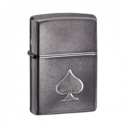 Zippo stamped spade