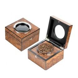Pot à tabac loupe d'orme
