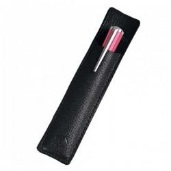 Fourreau 1 mini stylo St Dupont  cuir grainé