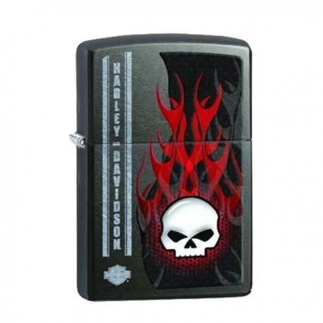 Zippo Harley Davidson skull flame
