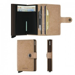 Porte cartes Miniwallet Secrid Vintage