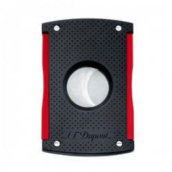 Coupe cigare ST Dupont maxijet noir Mat et rouge