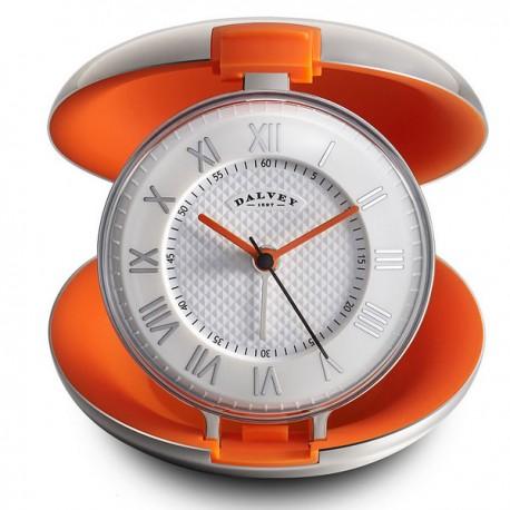 Reveil de voyage capsule orange