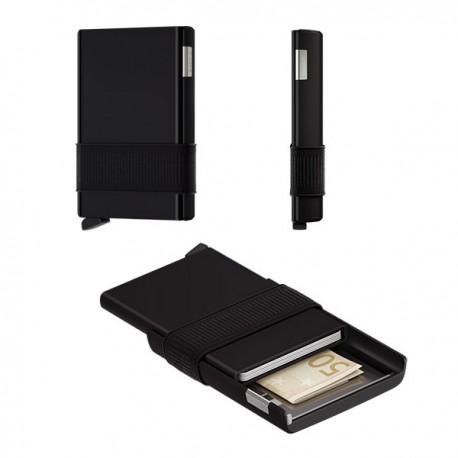 Porte cartes cardslide Secrid Black/black