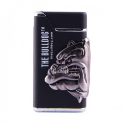 Briquet Turbo The Bulldog noir