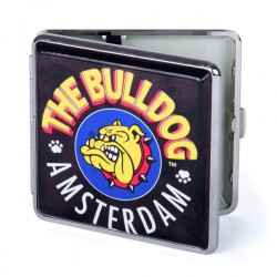 Etuis cigarettes The Bulldog Amsterdam Logo