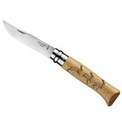 Couteau Opinel truite