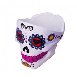 Cendrier Skull Mexicain