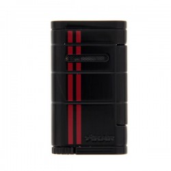 Briquet Xikar allume Red stripe