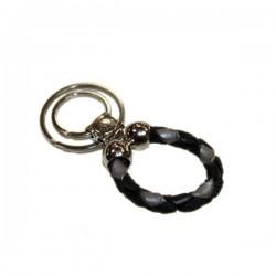 Porte clé Bagnara Derby multicolor noir et gris