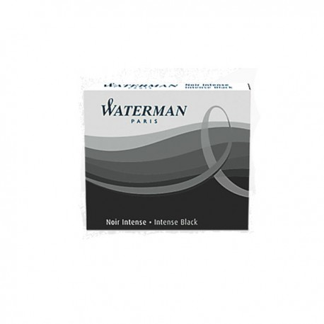 Cartouche Waterman noir intense